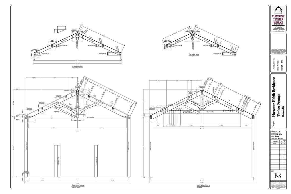 Sample Shop Drawings For Timber Construction
