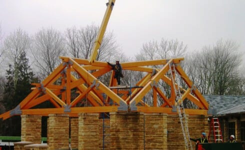Mammoth Cave Pavilion Near Completion