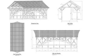 Timber Frame Bridge