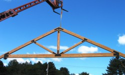 Truss for the Navy Picnic Pavilion