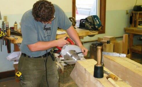 Timber Frame Detail Work