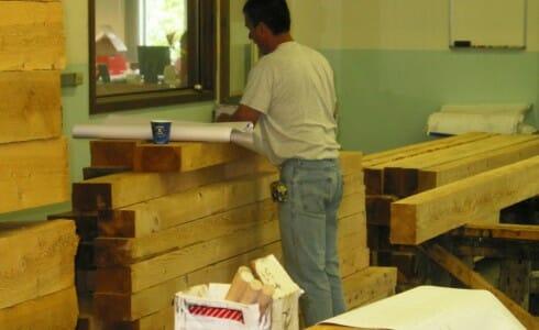 Timber Framing Layout