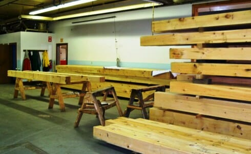 Raw Wood Material