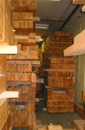 Fabricated Timbers Ready to Ship