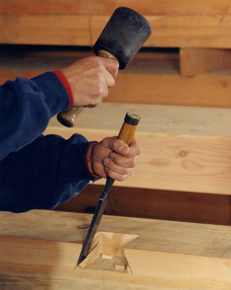 Tools Used In Timber Frame And Post Amp Beam Construction