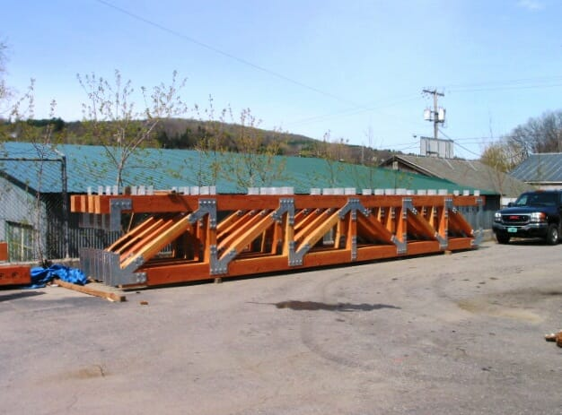 Assembled Girder Trusses