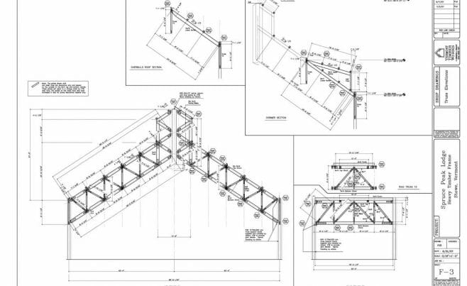 Girder Truss Timber Frame Plan