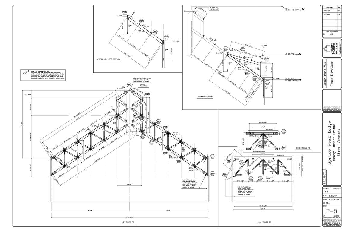 Girder Truss Made of Timber | Structural Timber Design