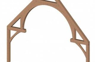 True Hammer Beam Truss Design