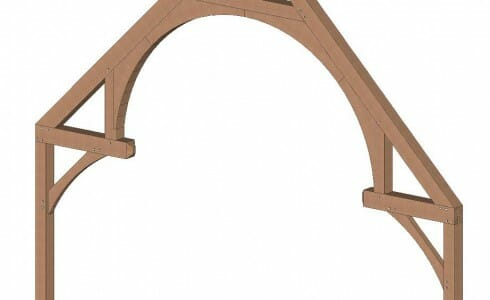 True Hammer Beam Truss Design