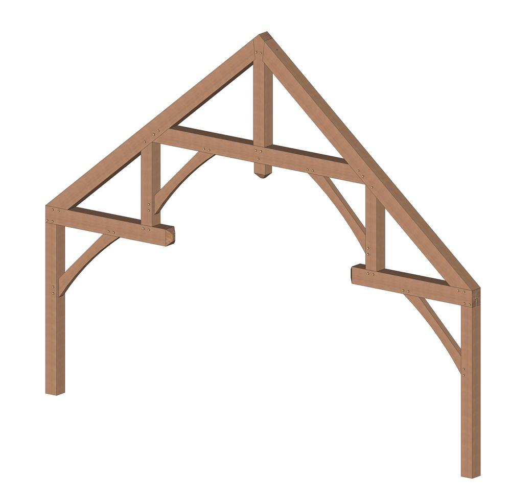 Modified Hammer Beam Trusses