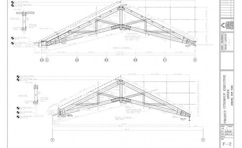 Scissor Truss Plan