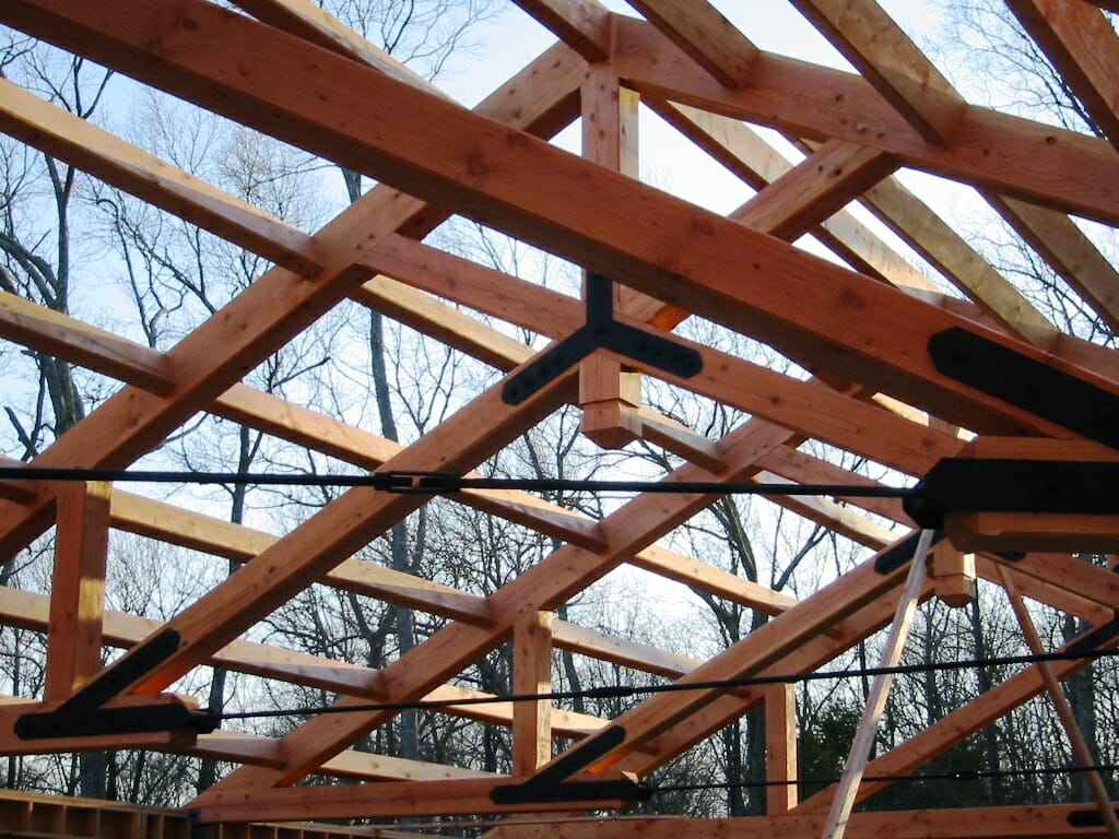 Scissor Truss Design Traditional And Steel Joinery