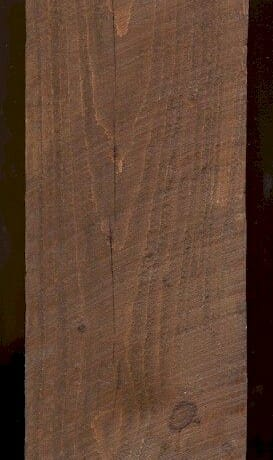 Minwax Early American Stain on Rough Sawn Pine