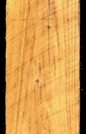 Minwax Golden Oak Stain on Rough Sawn Pine