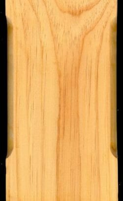 Minwax Natural Stain on Planed and Chamfered Pine