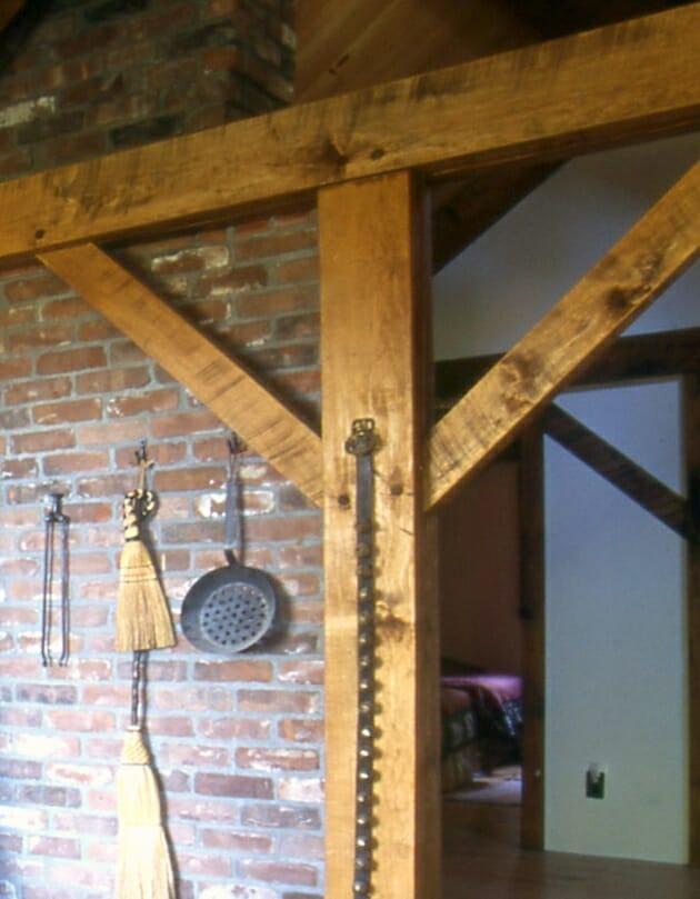 Semi Sanded Timber Beams