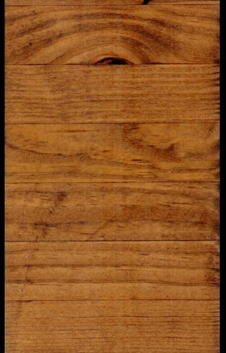 Glu Laminated Southern Yellow Pine that has been Planed Smooth and has an Early American Stain