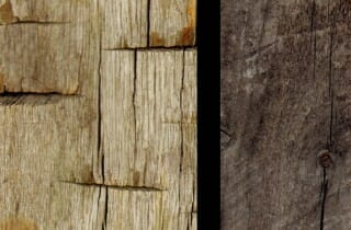 Weathered Oak and Pine