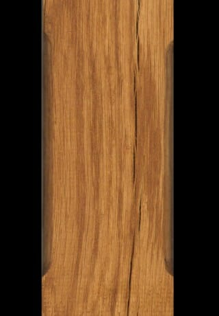 Smooth White Oak with a Golden Oak Stain