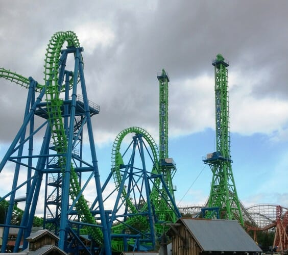 Goliath Towers Rollercoaster