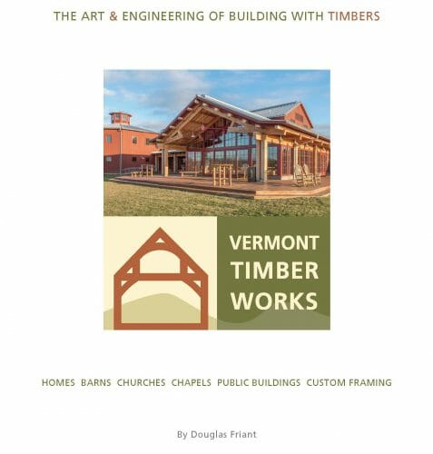 Cover of The Art & Engineering of Building with Timbers