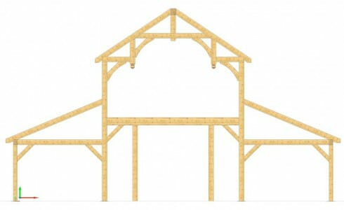 Timber Design for a Fancy Barn
