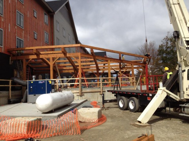 Loading Dock, Ready for Decking.