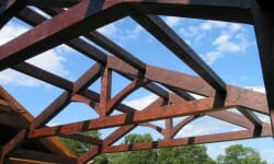 Modified King Post Truss