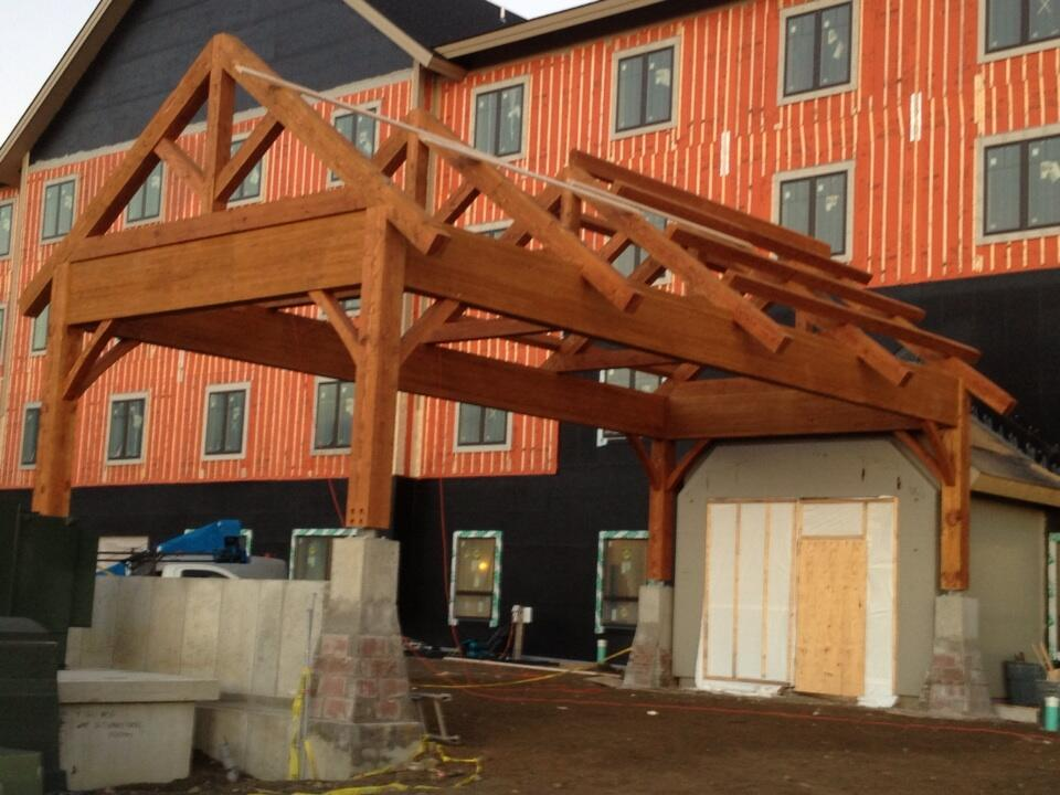 Porte Cochere, Great Progress