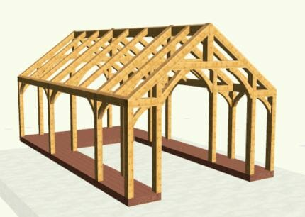 Timber design in 3D