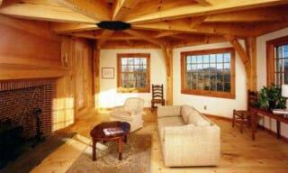 octagonal ceiling beams