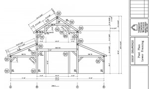 hammer Beam Barn Shop Drawings