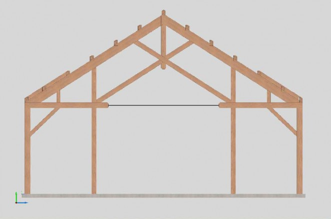 Truss Design for the Eagle Mt Event Barn