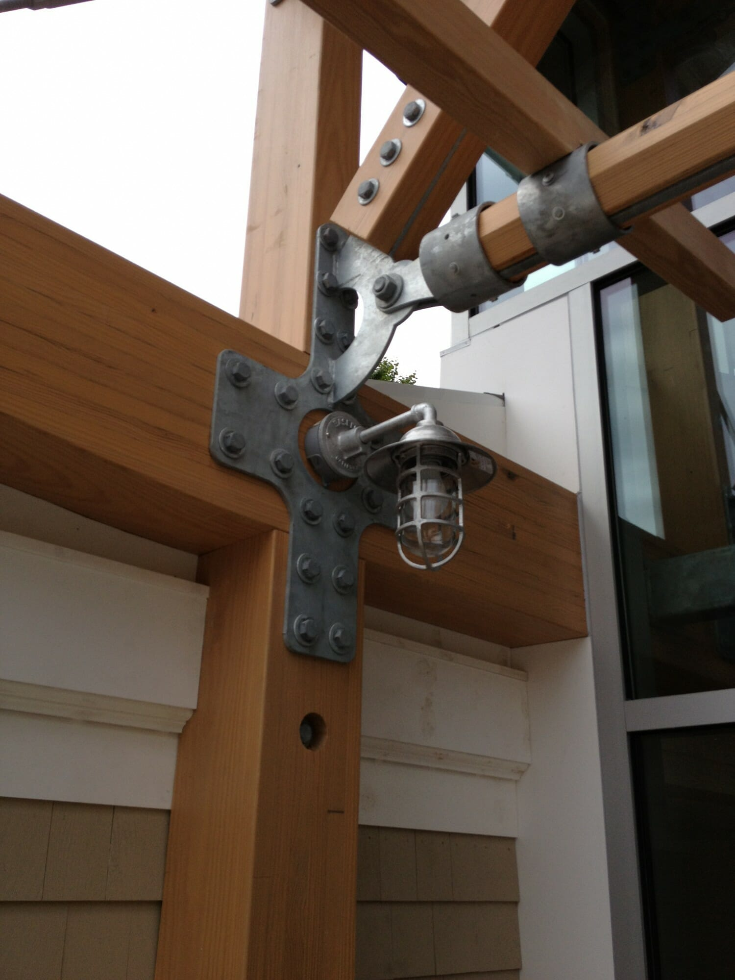 Timber Frame Steel Joinery