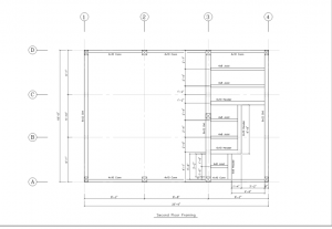 Second Floor Framing Plan