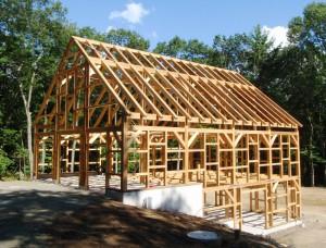 Timber-Framed-Barn