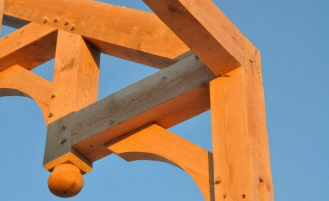 Arched Timber Braces