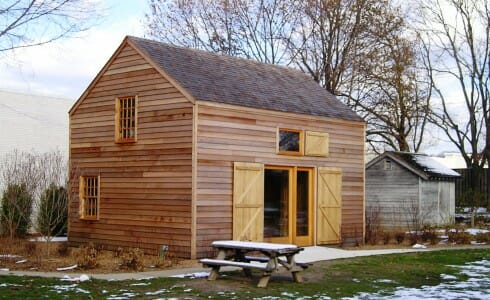 Country Barn Exterior