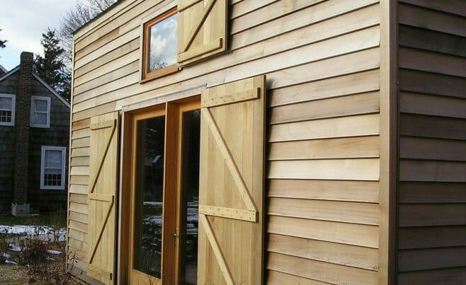 Timber Barn Exterior