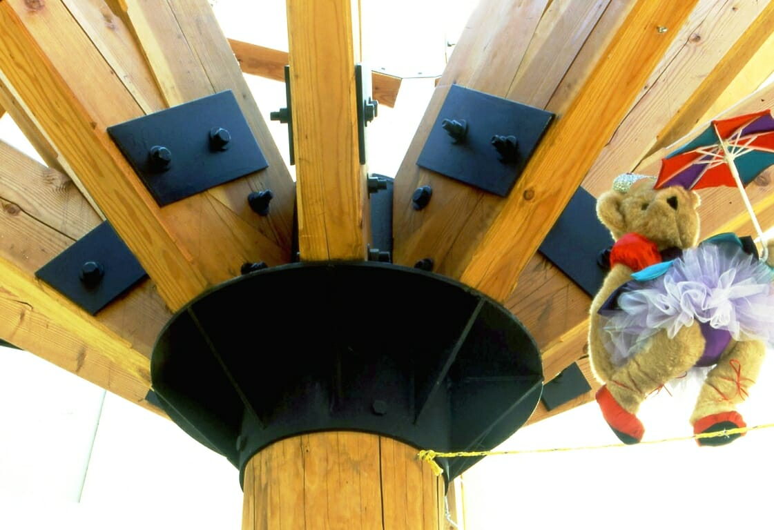 Timber Beams Reinforced with Steel AND Teddy Bears