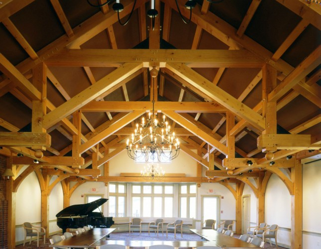 Hammer Beam Trusses for the Trapp Family Lodge