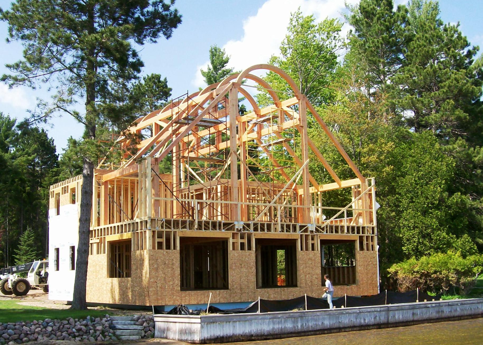 Progress photo by Schutlz Builders