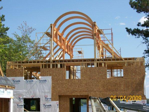 Progress photo by Schultz Builders