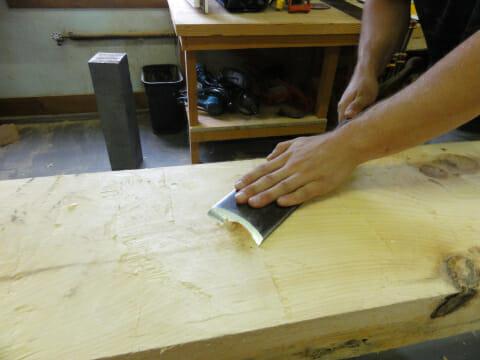Hand Hewing / Slick
