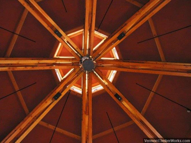 Spruce Camp / Ceiling Detail