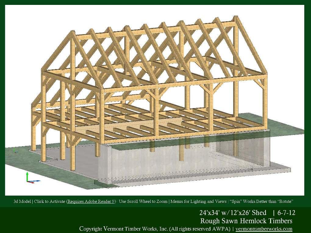 3d Models Of Timber Frame Barns