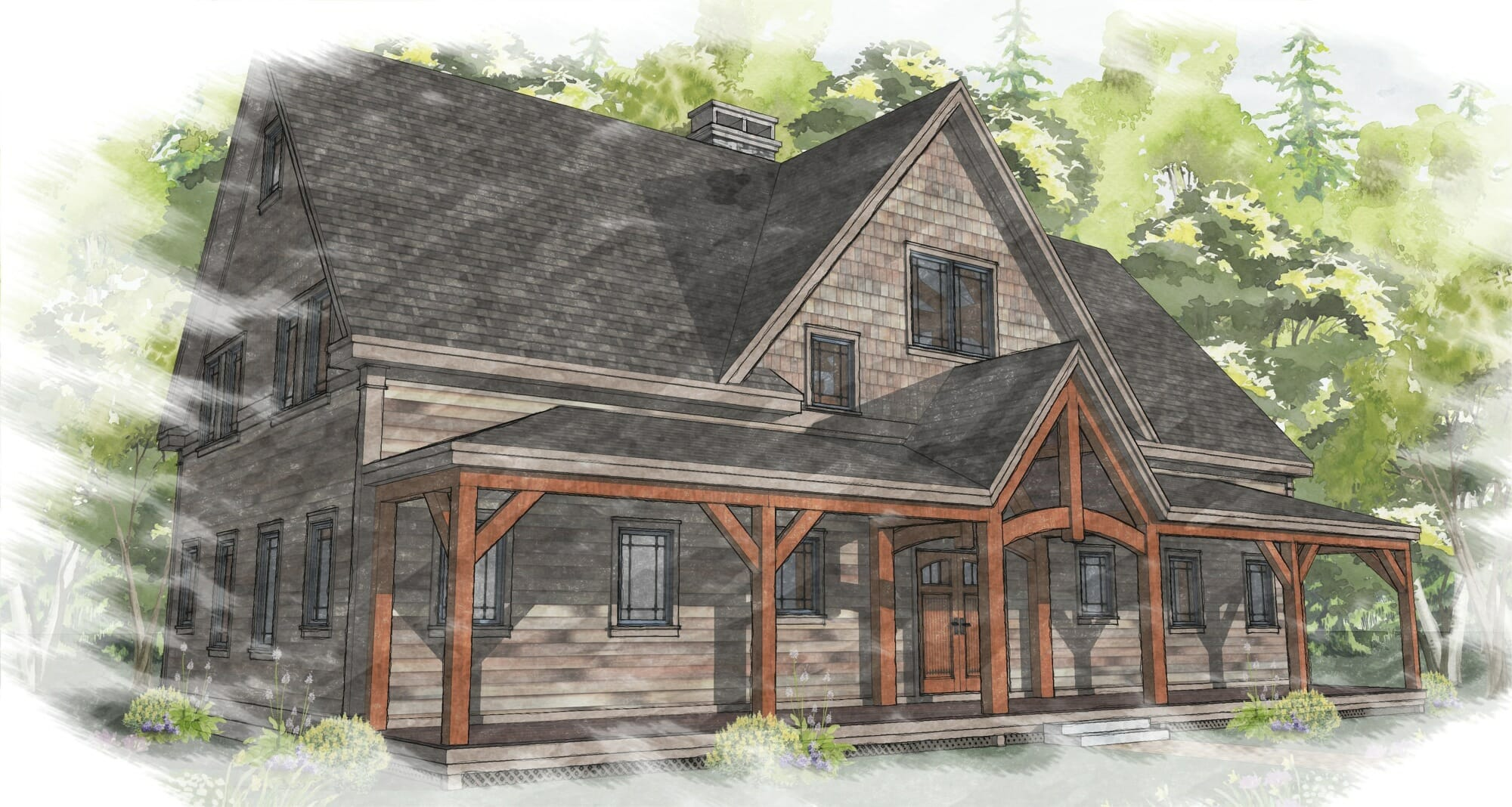 Timber frame house design software for Wood house design software