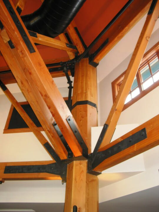 Steel Connections For Timber Framing
