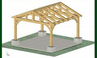 Post and Beam Parks | Picnic Shelters | Timber Pergolas